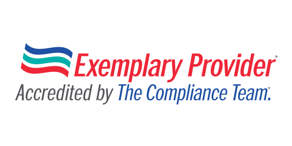 Exemplary Provider Accredited by The Compliance Team