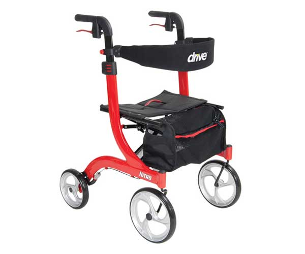 Product - Mobility Aids - Nitro Rollator Walker - Item #RTL10266