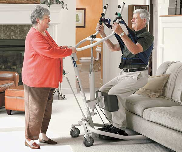 Product - Patient Handling - Sit to Stand Patient Lift - Invacare Model #GHS350