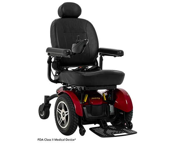 Product - Power Chairs - Jazzy Elite HD - Model  #2HD-C, 450lb Wht Cap