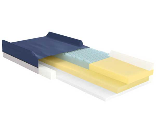 Product - Hospital Beds & Specialty - Pressure Reduction Mattress - APP Model #14003, Gravity 7 Item #15770, Low Air Loss Item #14025N