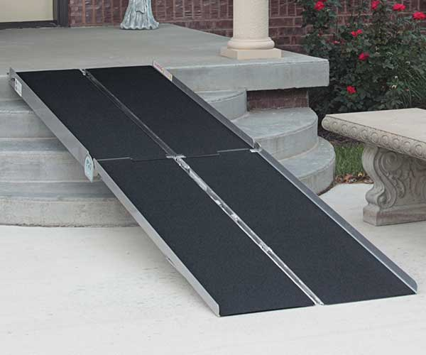Products - Ramps - Portable Multifold Ramp - Prairie View Industries Model #WCR630