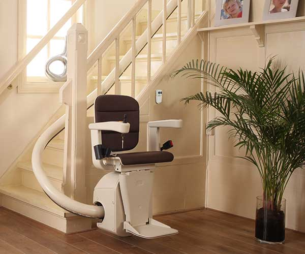 Product - Stair Lifts - Curved Models - Free Curve