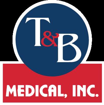 T&B Medical, Inc. Logo Vertical